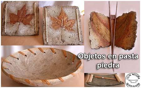 para hacer un objeto con forma como un cuenco plato o vasija se sigue este