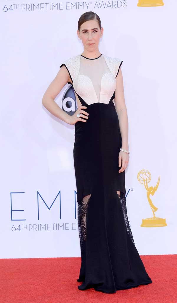 Zosia Mamet Emmys Zosia Mamet Evening Dr...