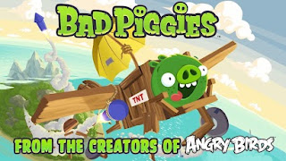 Bad Piggies HD Game free for Android galaxy y