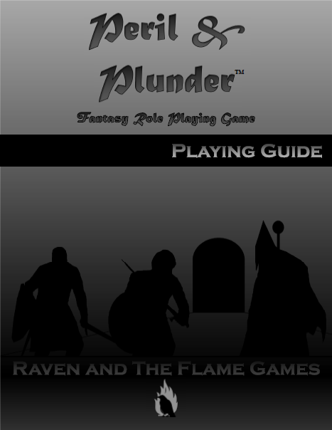 Peril and Plunder Playing Guide (Black and White)