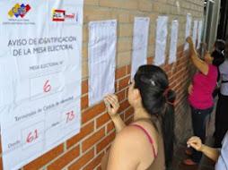 Más de 3 mil centros electorales funcionarán para las elecciones del PSUV