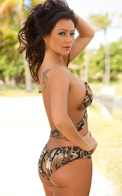 "Jenni ""Jwoww"" Farley Bikini Shoot For Perfect Tan Bikin3"