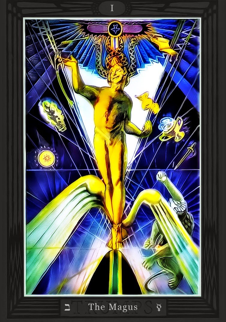 Up The Dungeon Punks Thoth Tarot