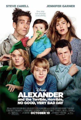 Watch Alexander and the Terrible, Horrible, No Good, Very Bad Day (2014)