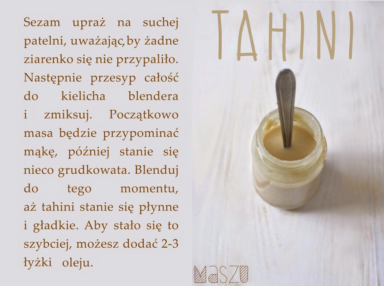 pasta tahini sezamowa