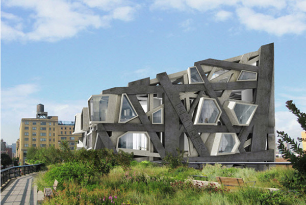 Modern Architectural Forms architecture of future | thought