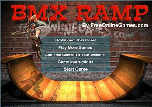 Jogar Online BMX Ramp