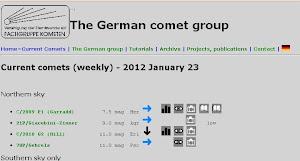 Grupo Aleman de Cometas.