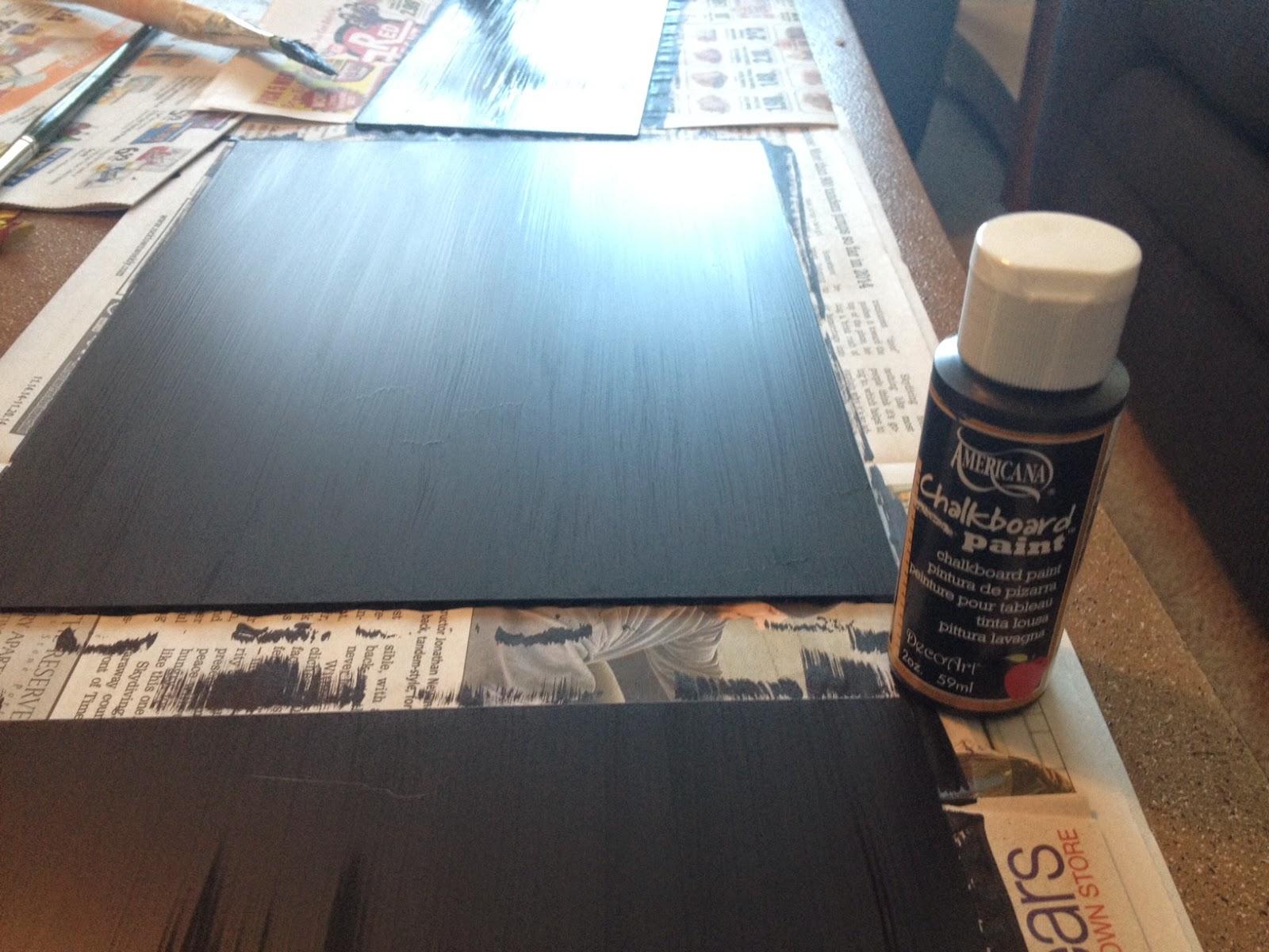 DIY Upcycle Chalkboard Frame