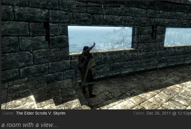 Skyrim view