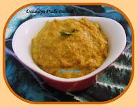 http://www.momrecipies.com/2014/11/dosakaya-palli-pachadi-yellow-cucumber.html