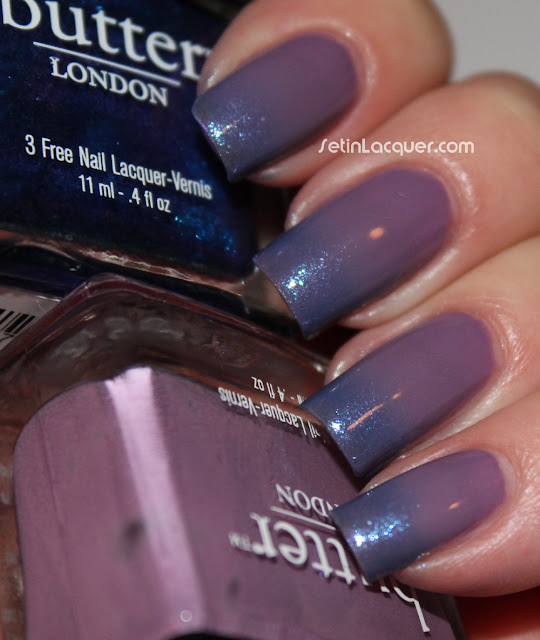 butter LONDON Scoundrel and Scouse gradient