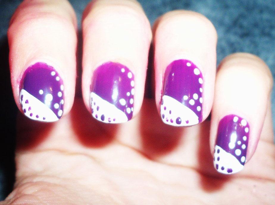 Todo Sobre Manos y Pies: Diseños de Uñas en color Purpura