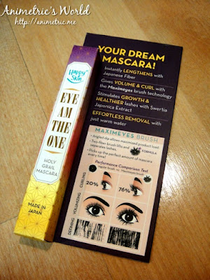 Happy Skin Eye Am The One Mascara Review