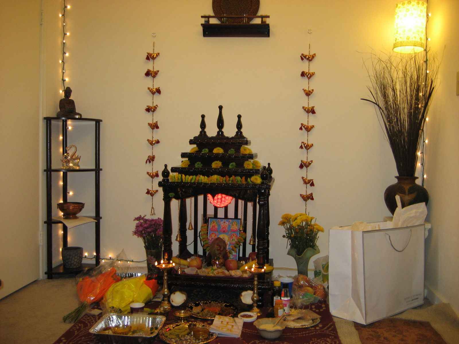 Step by step guide to diwali puja how to do diwali puja for Simple diwali home decorations