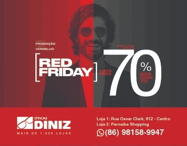 ÓTICA DINIZ - Red Friday 70%