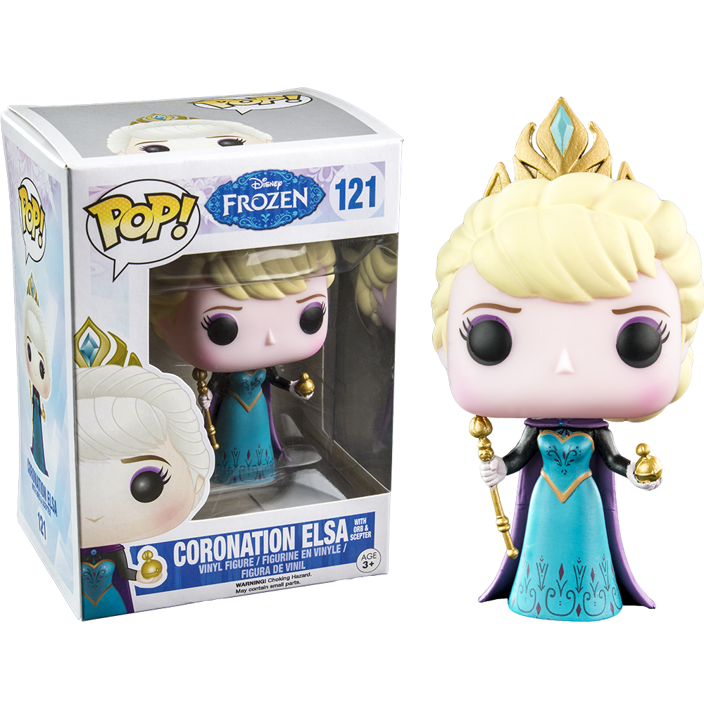 Funko Pop! Coronation Elsa Hot Topic