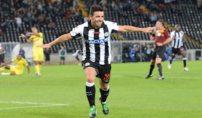 Udinese-Anzhi 1-1 highlights