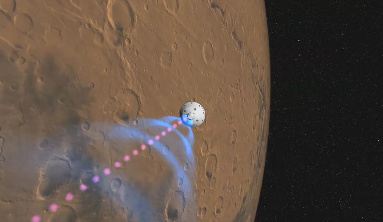 nasa curiosity rover landing - photo #12