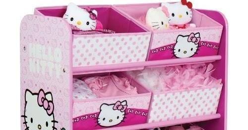 Coloriages enfants meuble de rangement jouets hello kitty chambre de fille pas cher - Chambre fille hello kitty ...