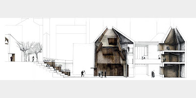 Architecture student shows at Newcastle University
