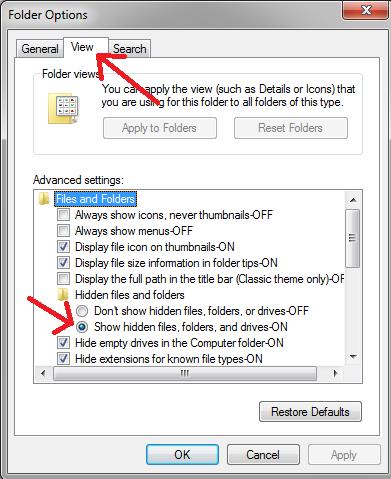 Cara Menyembunyikan Folder pada Windows 7