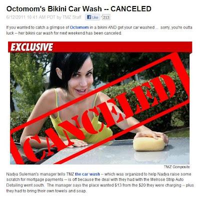 There are also commercial bikini car washes, where bikini-clad women ...