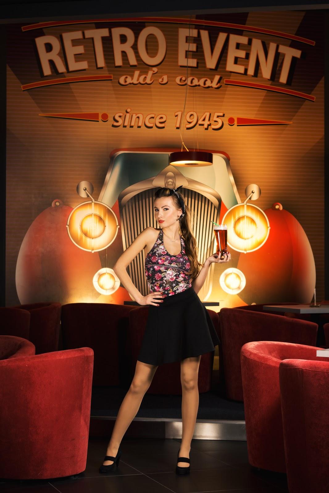 Promocyjna sesja fotograficzna na zlecenie Pin-up Music and Bowling w Bytomiu. fot. Łukasz Cyrus