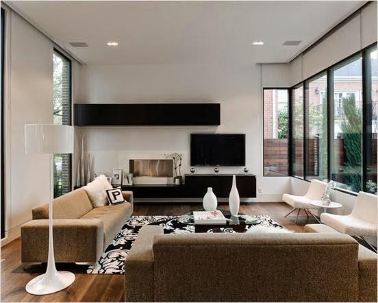 Desain Interior Cat Rumah Minimalis Modern