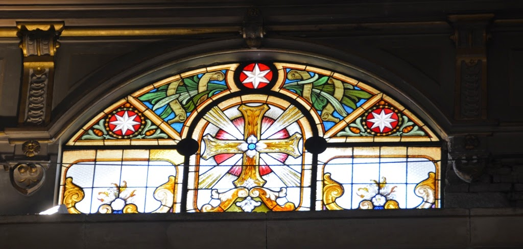 Cathedral of Santiago de Chile classic glass