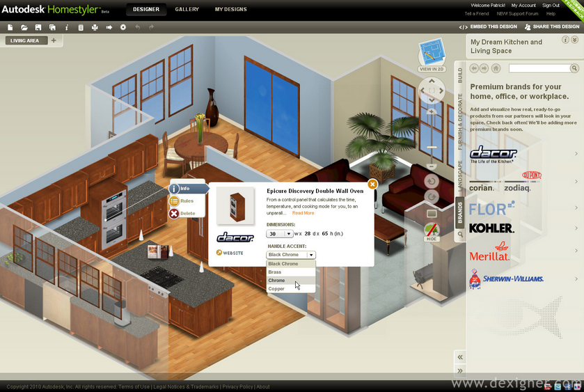 architect software      envisioneer express   home     d Home Design Software Download