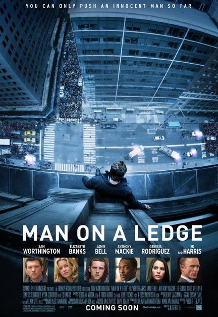 Man on a Ledge Poster 2012