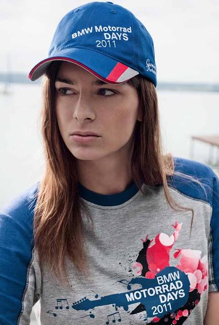 Anna Featured in BMW Motorrad Days Fashion Shoot
