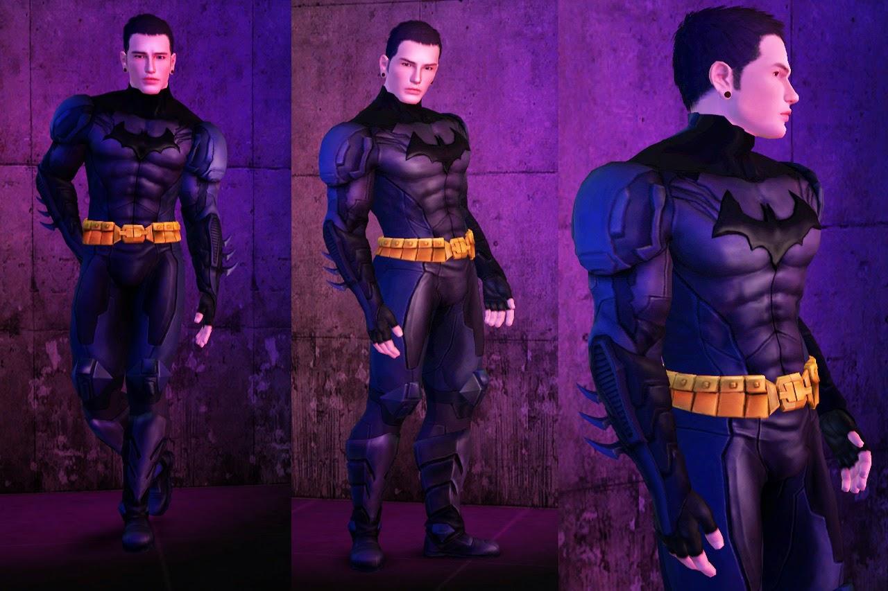 My Sims 3 Blog Batman S New 52 Costume Boots Amp Cape