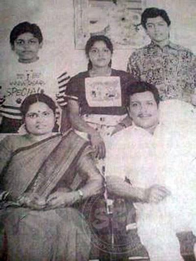 Suriya's childhood family