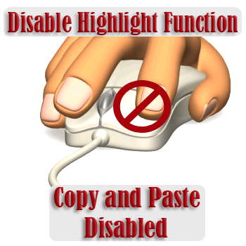 how to disable right click copy and paste on blogger