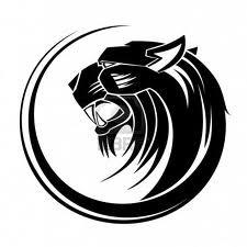 Motif Tato Singa Hitam Putih 20