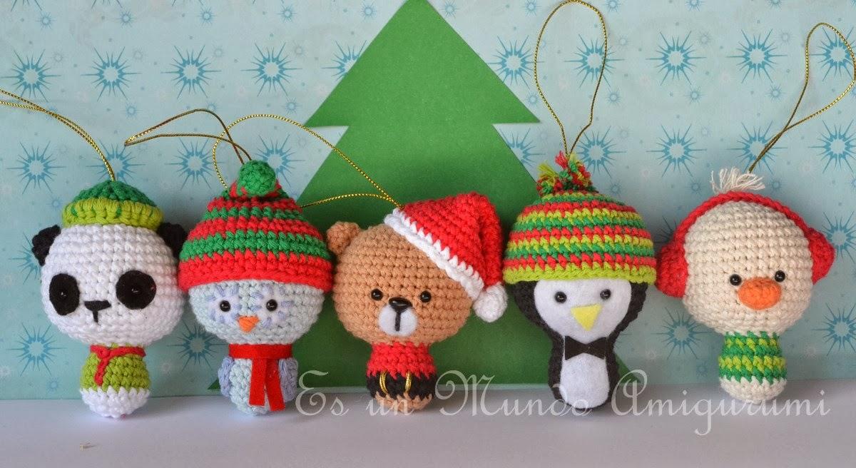 Amigurumis Navidad Crochet : Es un mundo amigurumi patr�n animales navide�os
