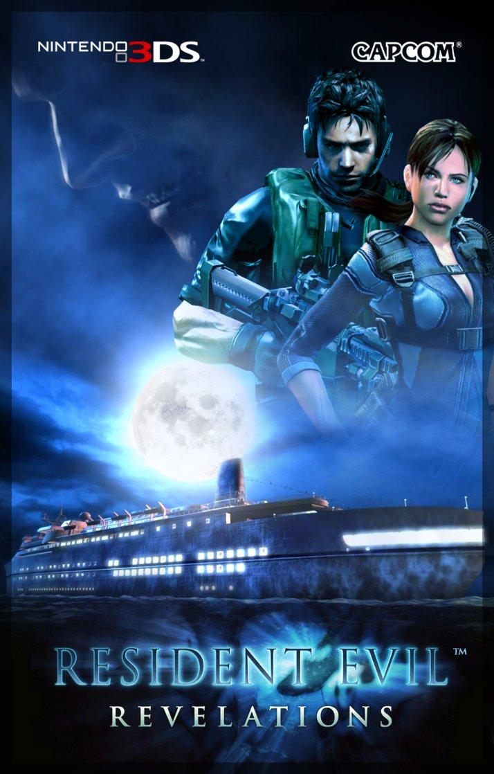 Resident Evil, Resident Evil Revelations, Survival horror, Nintendo 3DS, 3DS, Nintendo, handheld gaming, Future Pixel