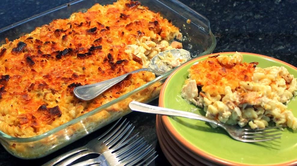: Cajun Cheesy Chicken and Pasta (FREEZABLE Mac and Cheese Casserole ...