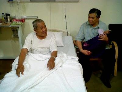 Jenazah Bapa Zahid Hamidi Selamat Dikebumikan