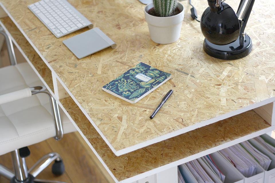 diy how to build a desk. Black Bedroom Furniture Sets. Home Design Ideas