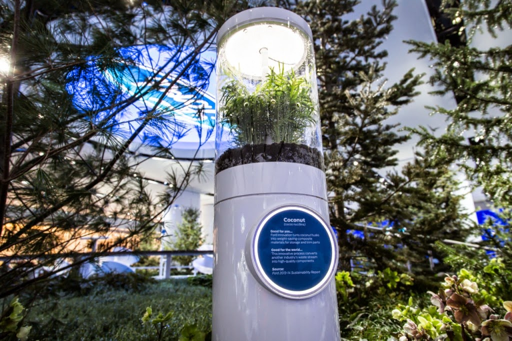 "Ford Donates NAIAS ""Innovation Park"" Display to Local Organizations"