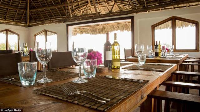 El Restaurante Roca de Zanzíbar