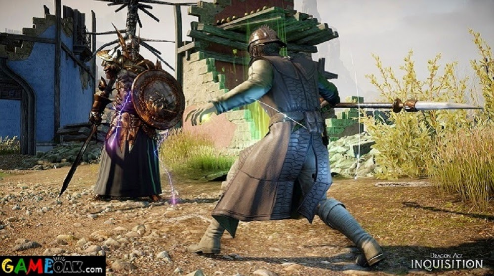 High graphics and visuals in fighting in Dragon Age Inquisition PC Game
