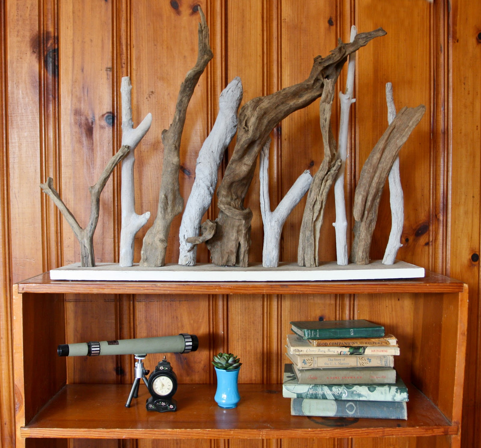 Driftwood decor diy driftwood decor ideas for a sea for Driftwood decor and design