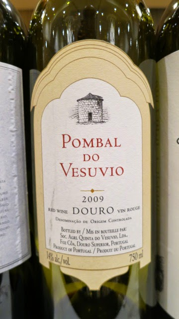 2009 Pombal do Vesuvio from DOC Duoro, Portugal