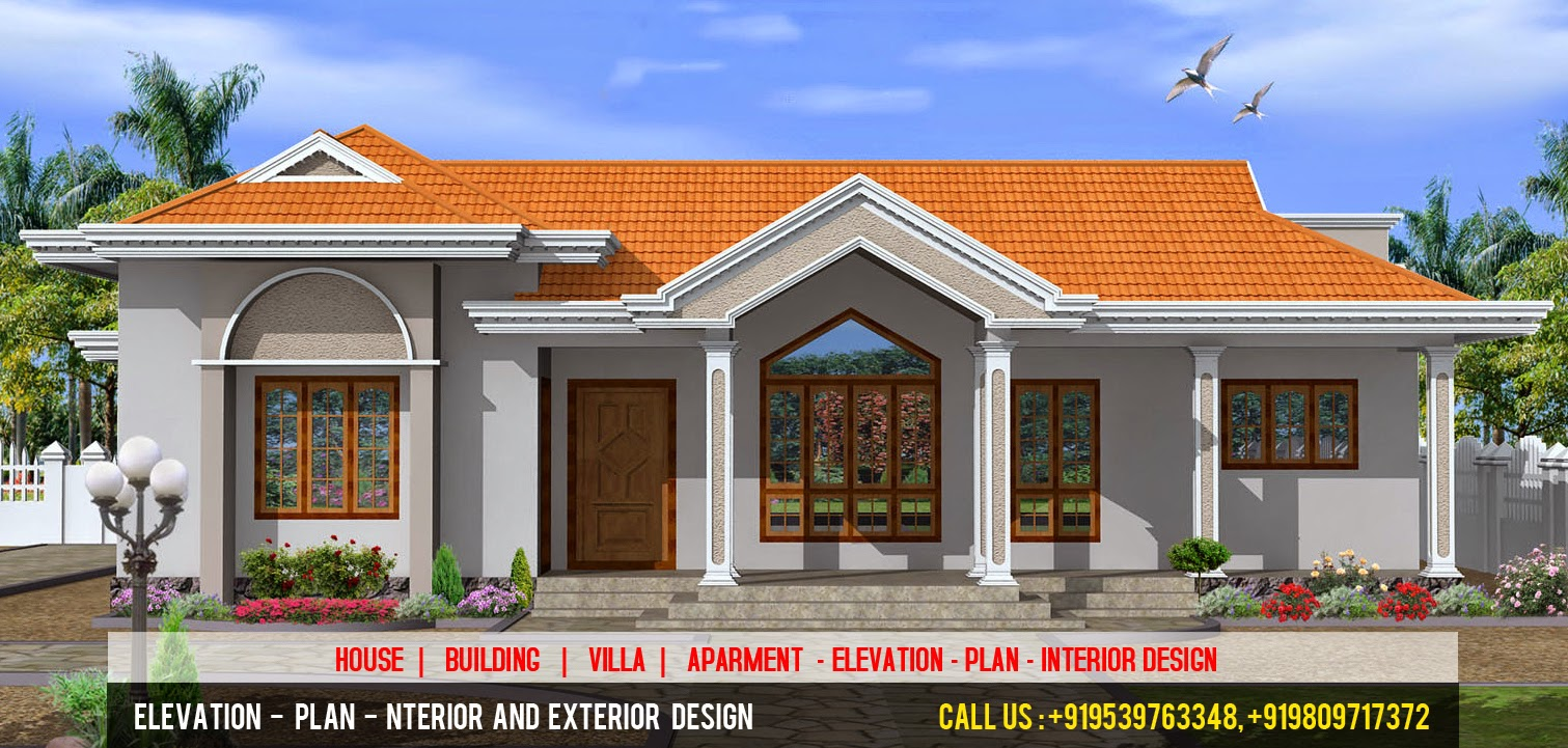 Elevation Plan Interior Design : D elevation plan designer kerala style house
