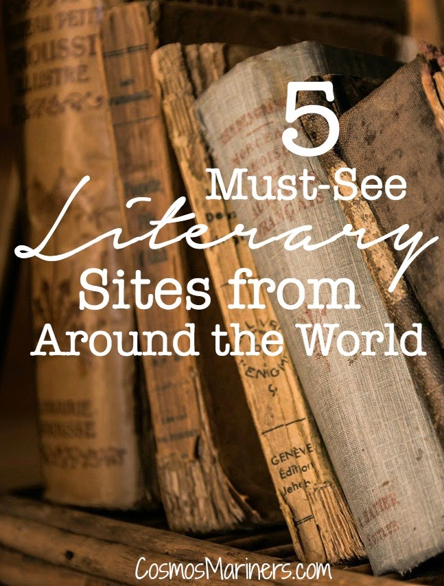 5 Must See Literary Sites from Around the World | CosmosMariners.com