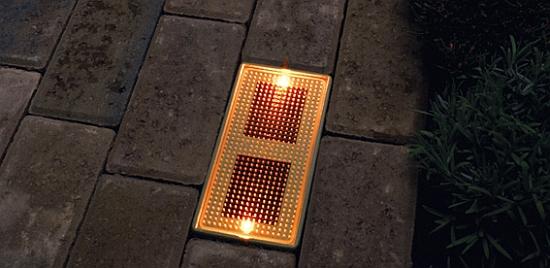 Brick Box Image: Solar Brick Light